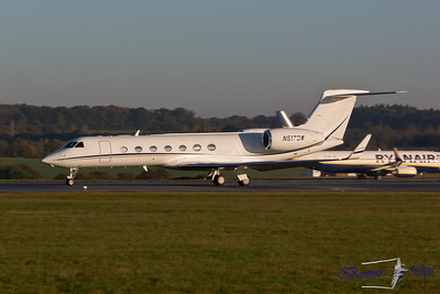 Gulfstream 550 N517DW Departing at 0805 to Baltimore Washington Intl