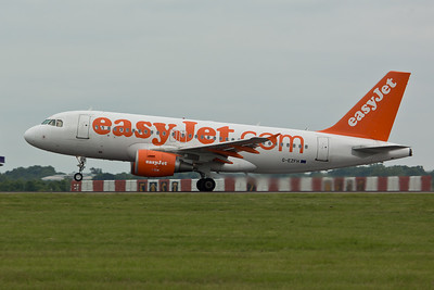 Airbus A.319 G-EZFH of EasyJet.