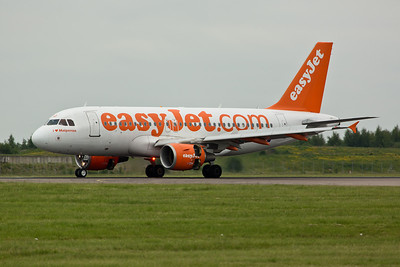 Airbus A.319 G-EZDJ of EasyJet.