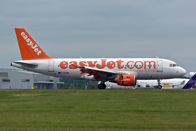 Airbus A.319 G-EZBH of EasyJet.