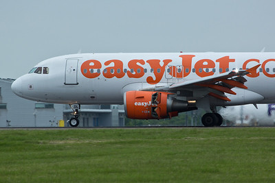Airbus A.319 G-EZDL of EasyJet.