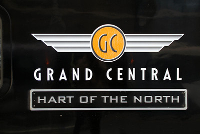 180107 'Hart of the North' nameplate.