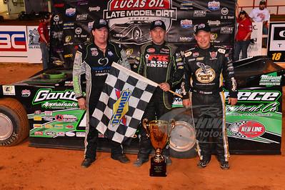 Scott Bloomquist, Jimmy Owens and Steve Francis
