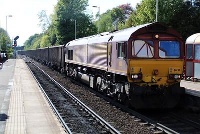 66138 1703/8D06 Gascoigne Wood-Drax passes Knottingley.