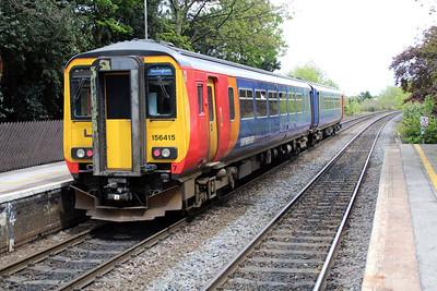 156415 passes Long Eaton.