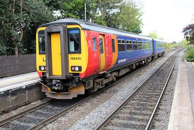 156470 passes Long Eaton.