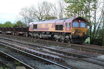 66034 2048/6v02 Tees Yard-Margam passing Hillam Gates.