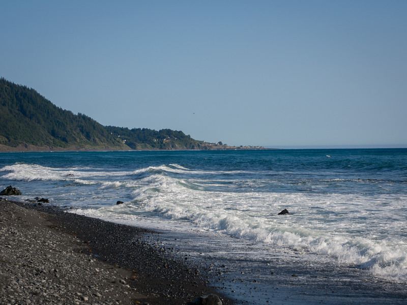 South to Shelter Cove