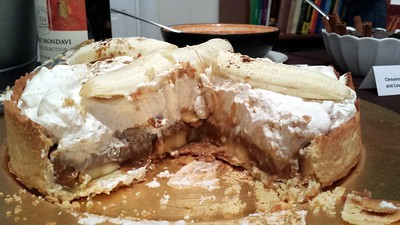 Homemade Banoffee Pie