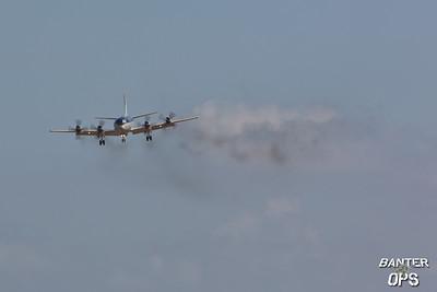 P-3C Orion 60+01 German Navy on short finals