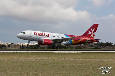 Airbus A.319 9H-AEM Air Malta