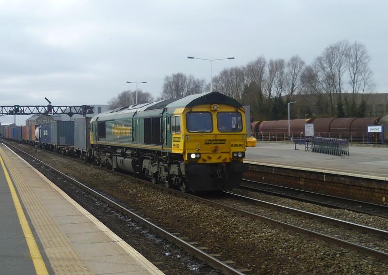 Freightliner 66590 Swindon
