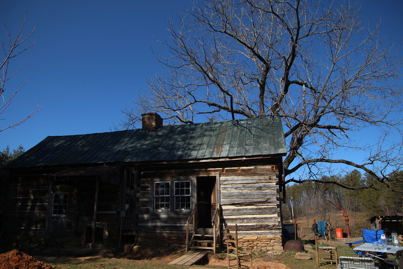 John and Kay Hartman's cabin home that they not only restored but added on to.