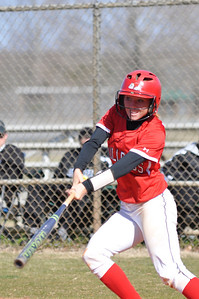 Jordyn Arrowood bats against USC Upstate Thursday March 7, 2013.