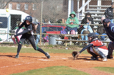 Taylar Pridgen catches against USC Upstate Thursday March 7, 2013.
