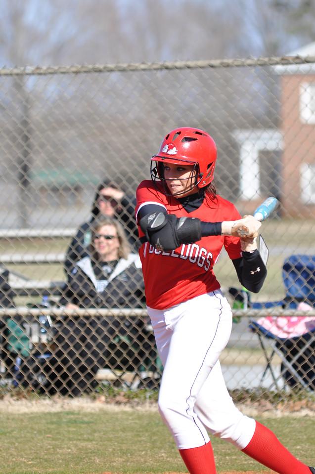 Taylar Pridgen bats against USC Upstate Thursday March 7, 2013.
