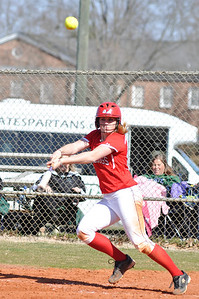 Samantha Meenaghan bats against USC Upstate Thursday March 7, 2013.