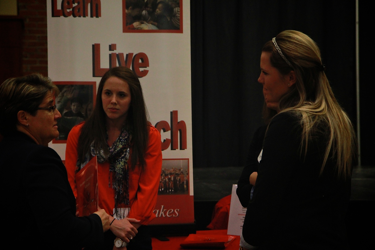 Teach Education Career Fair; March 2013.