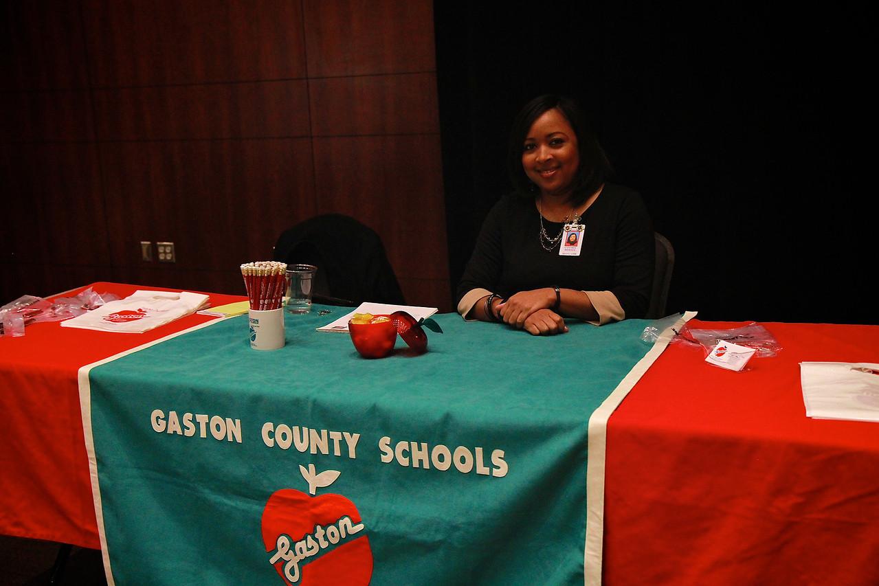 Teach Education Career Fair; March 2013.