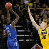 NCAA College Basketball: Iowa vs Indiana State NIT