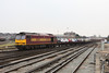 27 March 2013 :: 60049 arriving back at Eastleigh working 6B44 cars from Southampton Western Docks to Eastleigh