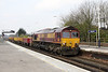 27 March 2013 :: 66061 working through Basingstoke train 6M26 from Eastleigh to Stud Farm