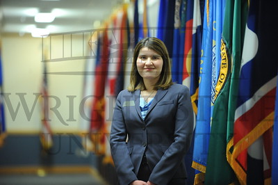 10800 General Janet Wolfenbarger at Wright Patterson AFB 3-18-13