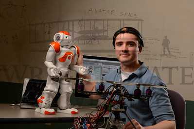 10912 Research Student David Brendel for Magazine Story on Science Olympiad 3-4-13