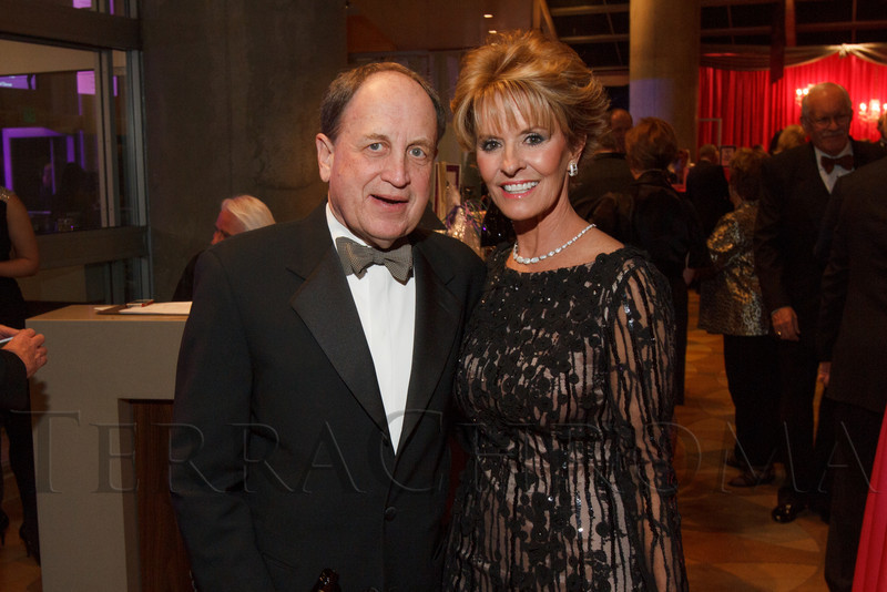 Alan and Jamie Angelich.  Saturday Night Alive, benefiting the Denver Center Theatre Company and its Education Department, at the Denver Center for Performing Arts, Seawell Ballroom, in Denver, Colorado, on Saturday, March 2, 2013.<br /> Photo Steve Peterson