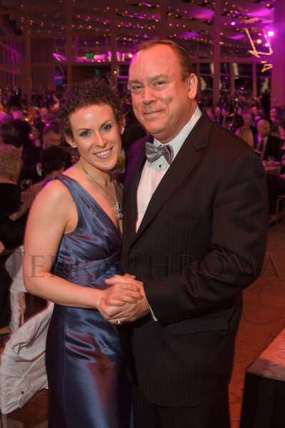 Meredith Black and Roger Hutson.  Saturday Night Alive, benefiting the Denver Center Theatre Company and its Education Department, at the Denver Center for Performing Arts, Seawell Ballroom, in Denver, Colorado, on Saturday, March 2, 2013.<br /> Photo Steve Peterson