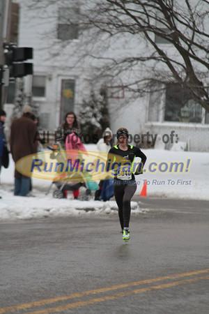 Women's 5K Finish Part 1 - 2013 Spectrum Health Irish Jig