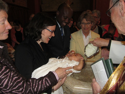 Baptism of Baby Marian