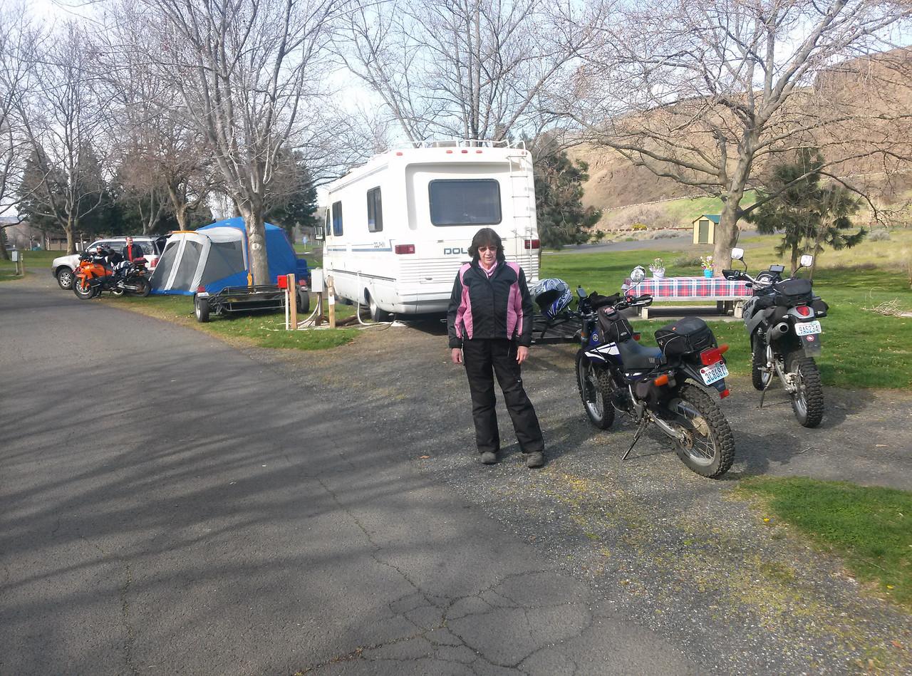 Camping at Maryhill State Park
