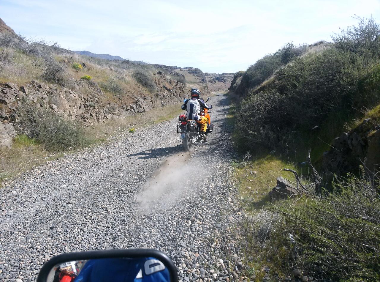 Back road to John Day Dam