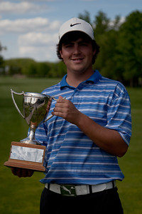 2013 Men's Match Play Champion, Aaron Cockerill, Teulon