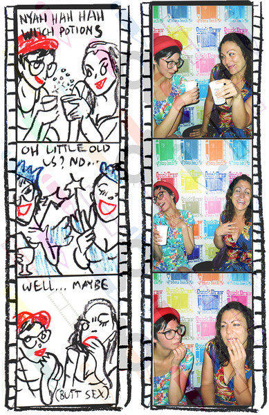 """<a href= """"http://quickdrawphotobooth.smugmug.com/Other/matney/30580991_9sXVsJ#!i=2642514165&k=f6Q5Xnz&lb=1&s=A"""" target=""""_blank""""> CLICK HERE TO BUY PRINTS</a><p> Then click on shopping cart at top of page.<p>All purchases go to fund Matney."""