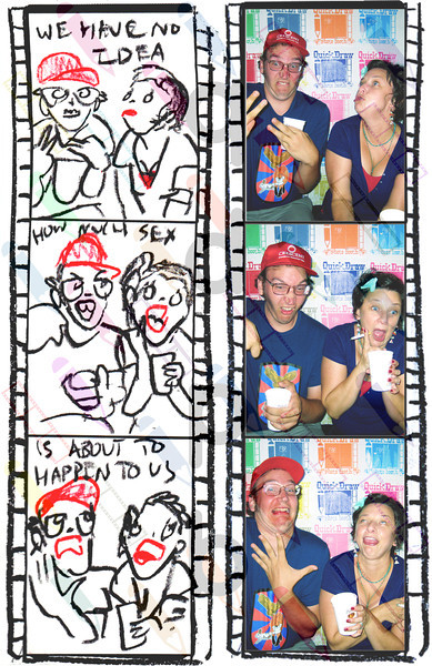 """<a href= """"http://quickdrawphotobooth.smugmug.com/Other/matney/30580991_9sXVsJ#!i=2642507370&k=jQGXWG7&lb=1&s=A"""" target=""""_blank""""> CLICK HERE TO BUY PRINTS</a><p> Then click on shopping cart at top of page.<p>All purchases go to fund Matney."""