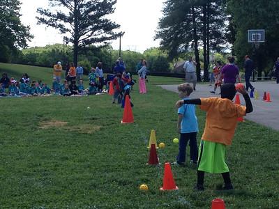 May 13, 2013 - Jen's Class Field Day/School Functions