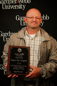 Apples and Accolades; Spring 2013. Male Staff Member of the Year