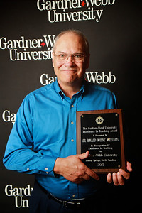 Apples and Accolades; Spring 2013. Excellence in Teaching Award