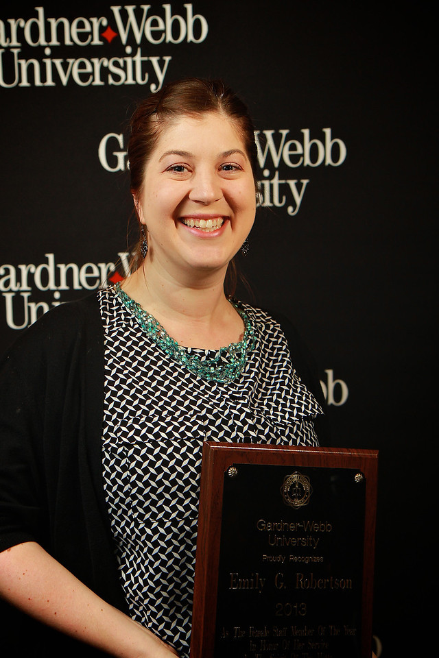Apples and Accolades; Spring 2013. Female Staff Member of the Year
