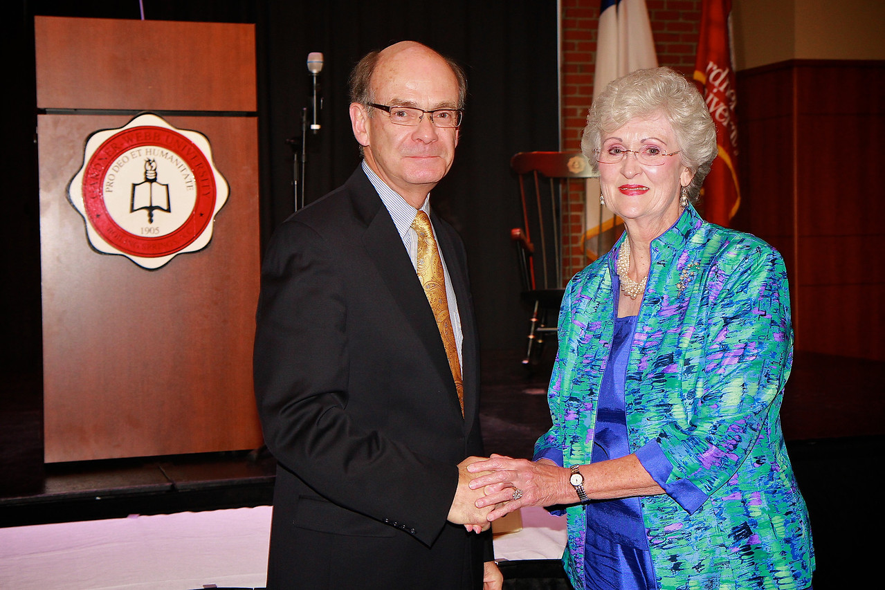 Apples and Accolades; Spring 2013. Retirement Recognition