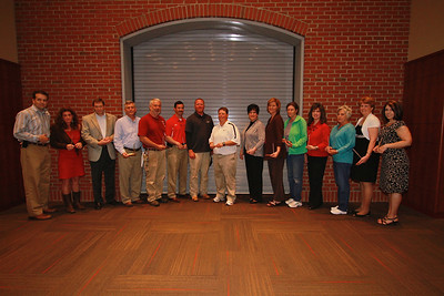Apples and Accolades; Spring 2013. 10-Year Recognition Awards