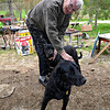 Bud Niehaus and dogs