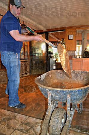 Brian Stearley mud cleanup