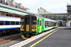 21 May 2013 :: Class 133, no 133333 still in its East Midlands livery departing Exeter St Davids with First Great Western service 2B82 the 1725 from Exmouth to Barnstaple