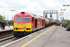 16 May 2013 :: 60054 at Didcot station with 6B33, empty oil from Theale to Robeston