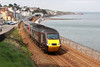 21 May 2013 :: Cross Country 43304 passing Dawlish with 1E63, the 1524 from Plymouth to Leeds
