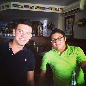 Esteban y Mauricio