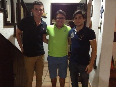 Esteban, Mauricio & Bruno. Los primos.